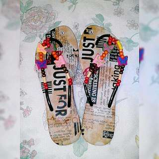 Bohemian Style Slippers