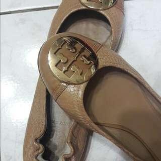 Tory Burch雙色蛇紋平底鞋🎶🎶