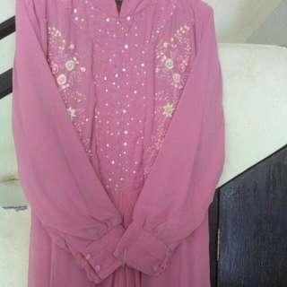 Gamis Pink Payet..
