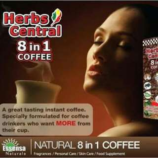 Herbs Central 8 in 1 Coffee