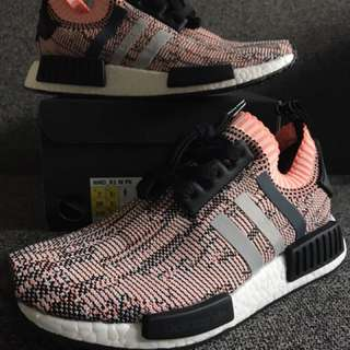 New Women's Adidas Nmd Prime Knit Salmon Pink US 7 8