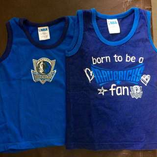 Baby NBA jersey (Mavericks)