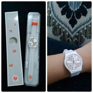 Swatch Special Edition White Transluscent