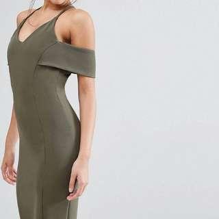 Green Club Dress Size 8