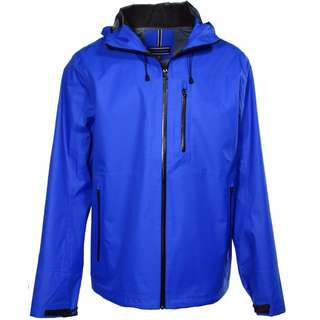 For sale Brand New Tommy Hilfiger Blue Mens Small Size Hooded Windbreaker Jacket