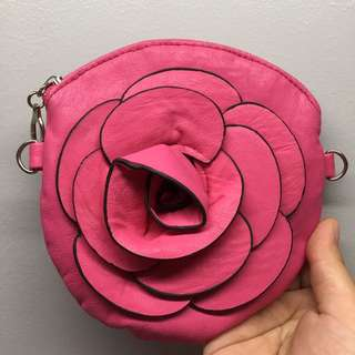 Pink Floral Bag (small)