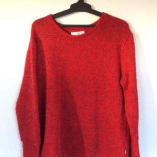 FEDERATION Red Jumper