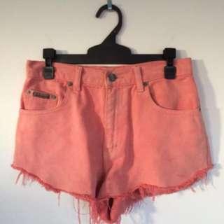 CALVIN KLEIN Pink Shorts