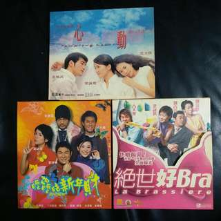 《正版》梁詠琪系列VCD$40(全要)$15(單隻)