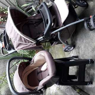 Stroller w/ Car Seat And Playpen
