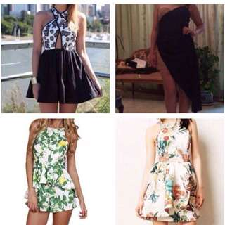 Floral Dresses & Playsuits