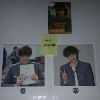 EXO KAI GROWL photocard, polaroids