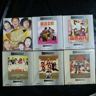 《正版》沈殿霞(肥姐)VCD,永恒的經典,永恒的笑聲