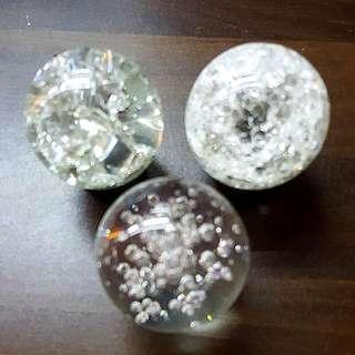 WATER FOUNTAIN GLASS BALL