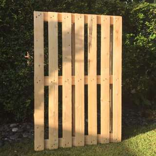 For Rent: Wooden Pallet