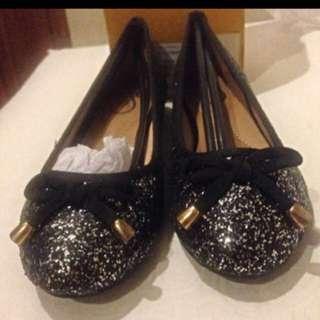 Glitter Flat Shoes Yongki Komaladi
