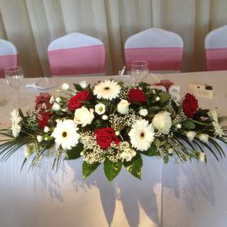 Table top flower arrangement - Hitec