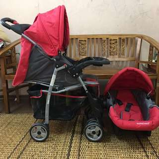 Stroller With Car Seat + FREE Gift