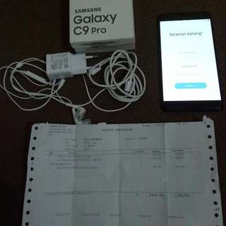 Hp Galaxy C9 Pro Mulus Garansi Panjang