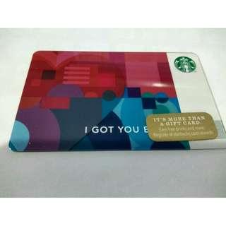 Starbucks cards USA - CA - EU