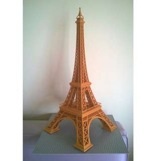 3D printing service: Eiffel tower (one time print with no support)