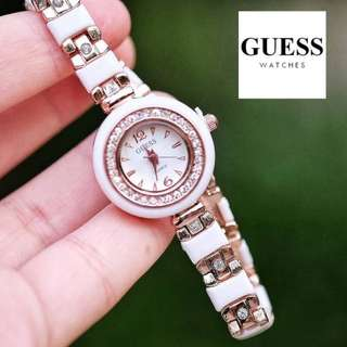 GUESS WHITE DIAMON