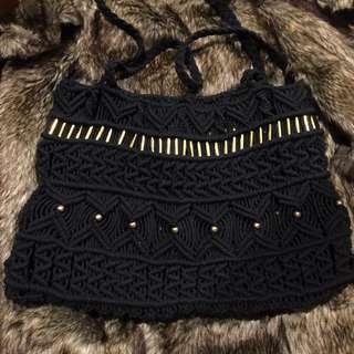 Large crochet bag