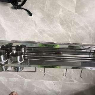 不銹鋼廚房調味刀架
