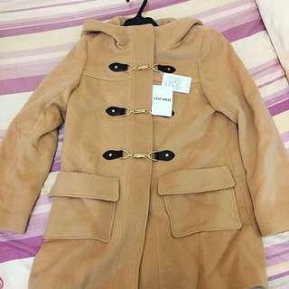 日本品牌專櫃 全新 L'EST ROSE 經典款 牛角外套