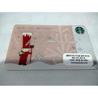 Starbucks cards korea