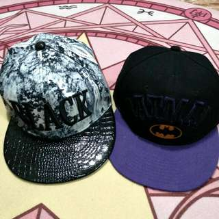 Varsity baseball caps