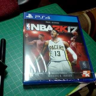New NBA 2k17 (PS4)