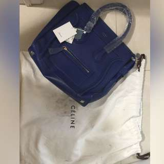 Authentic Royal Blue Celine Purse