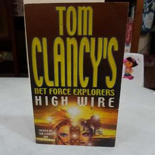 Tom Clancy's Net Force Explorers High Wire