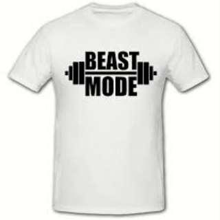 Beast Mode Bars Design Shirt Custom Tee