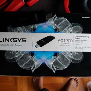 linksys wireless dual band adaptor usb