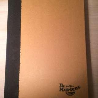Dr martens Notebook