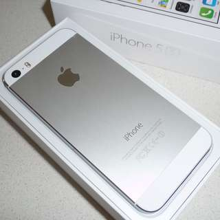 Price Drop!! iPhone 5s, Silver, 32gb