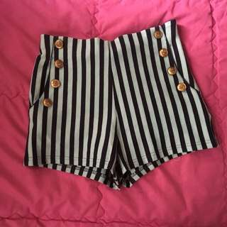 Forever 21 Striped Short