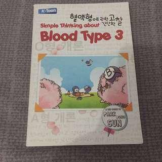 Komik Simple Thinking About Bloodtype 3