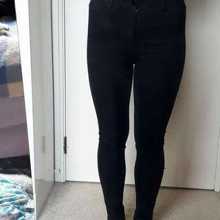 Supre High Waisted Jeans Size 10