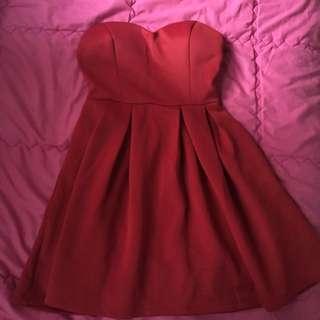 Something Borrowed Red Dress
