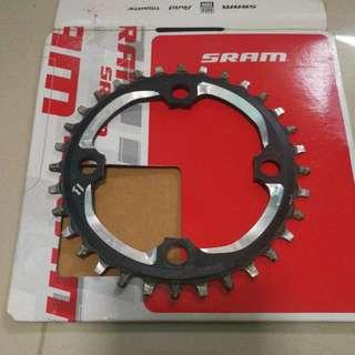 SRAM chainring