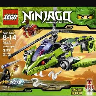 WTB LEGO NINJAGO 9443