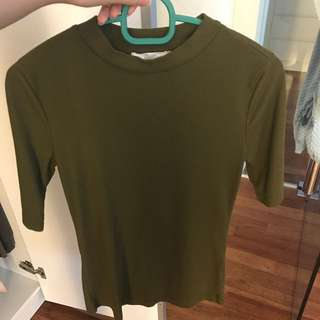 Forever 21 High Neck Top