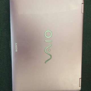 Sony Vaio (pink) Laptop