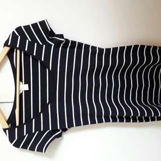 Tight Stripy Dress