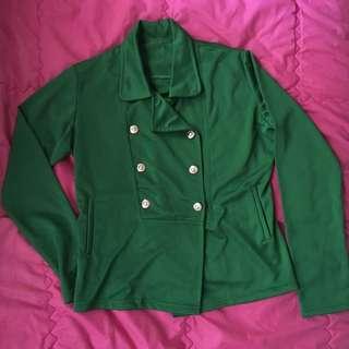 Green Outerwear