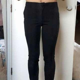Cute Black Corporate Pants