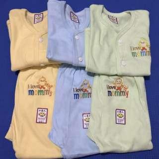 Baju Anak 3 Setel (baju Dan Celana)